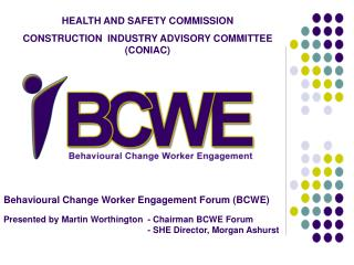 HEALTH AND SAFETY COMMISSION CONSTRUCTION  INDUSTRY ADVISORY COMMITTEE (CONIAC)