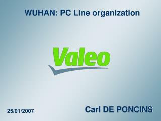 WUHAN: PC Line organization