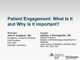 Barriers to Effective Patient Engagement
