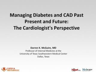 Early Type 2 Diabetes Mellitus:  A Cardiovascular Disease