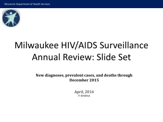 Florida HIV Incidence Estimates:  2006