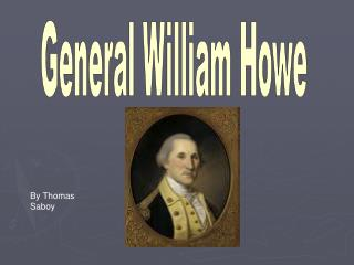 General William Howe