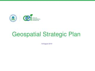 Geospatial Strategic Plan