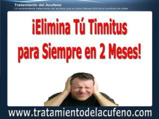 Tinnitus Cura - Tinnitus Causas - tratamientodelacufeno.com