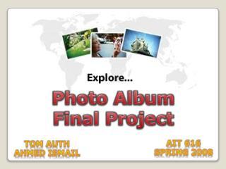 Photo Album Final Project