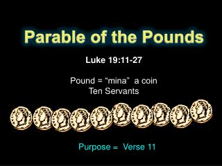 Parable of the Pounds
