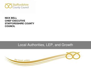 Local Authorities, LEP, and Growth