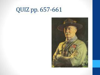 QUIZ pp. 657-661