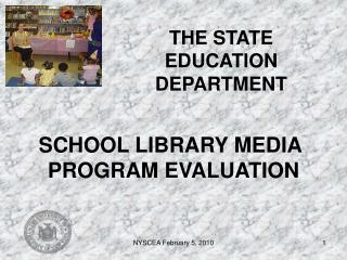 THE STATE EDUCATION DEPARTMENT