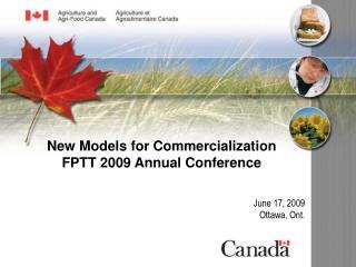 June 17, 2009 Ottawa, Ont.