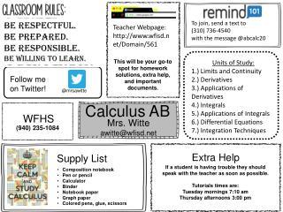 Calculus AB