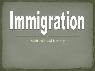 Multicultural History