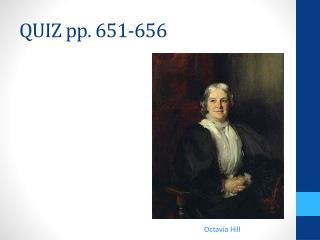QUIZ pp. 651-656