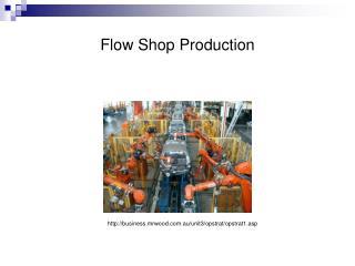 Flow Shop Production