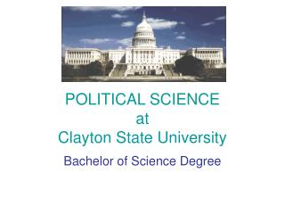 POLITICAL SCIENCE at Clayton State University