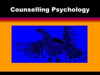 Counselling Psychology