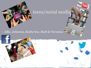 teens/social media
