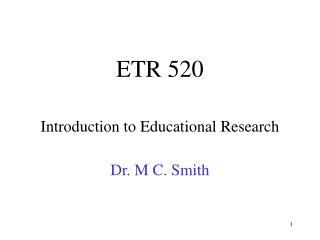 ETR 520