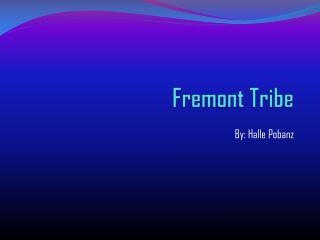 Fremont Tribe
