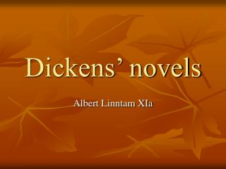 Dickens  novels