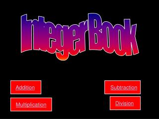 Integer Book