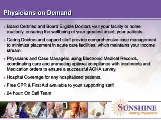 Physicians on Demand