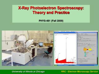 X-Ray Photoelectron Spectroscopy: Theory and Practice PHYS-481 (Fall 2009)