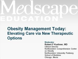 Obesity Management Today: