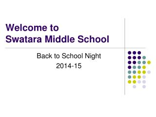 Welcome to  Swatara Middle School