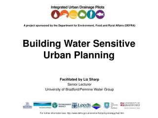 Building Water Sensitive Urban Planning