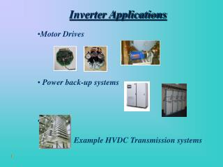 Inverter Applications