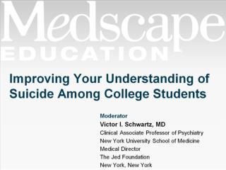 Improving Your Understanding of Suicide Among College Students
