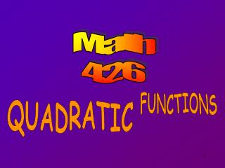 Math 426