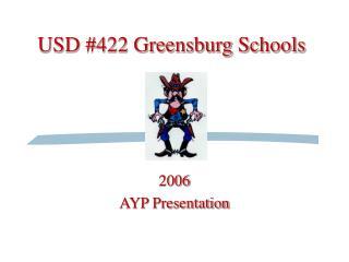 USD #422 Greensburg Schools