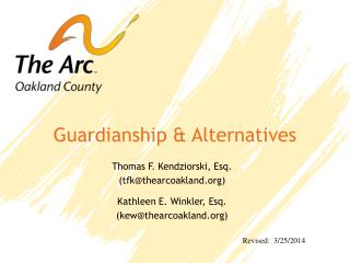Guardianship & Alternatives