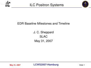 ILC Positron Systems