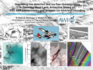 Grounding line detection and ice flow characteristics in Dronning Maud Land, Antarctica, based on