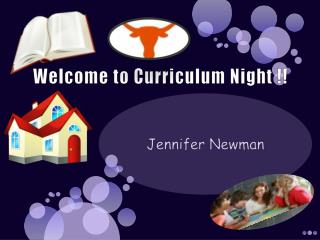 Welcome to Curriculum Night !!