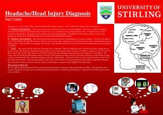 Headache/Head Injury Diagnosis