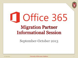 Migration Partner Informational Session