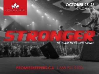 OCTOBER 25-26 CALGARY, AB