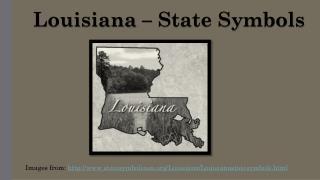 Louisiana – State Symbols