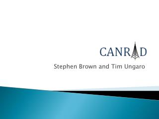 Stephen Brown and Tim Ungaro