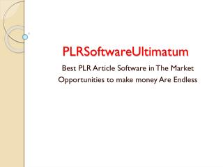 PLRSoftwareUltimatum