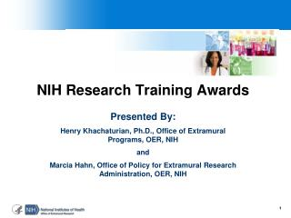 NIH Research Training Awards