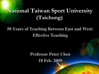 National Taiwan Sport University (Taichung)