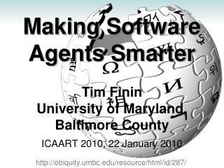 Making Software Agents Smarter