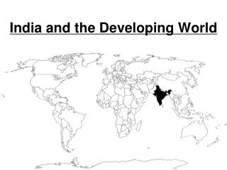 India and the Developing World