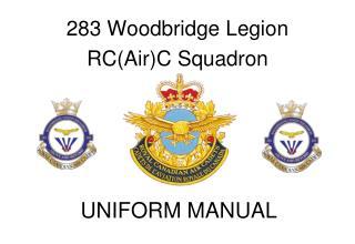 283 Woodbridge Legion  RC(Air)C Squadron