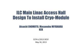 ECFA LC 2013 DESY May 30, 2013